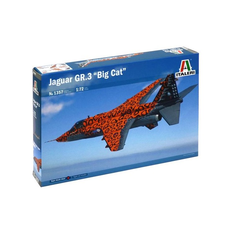 "Model Kit letadlo 1357 - JAGUAR GR.3 ""Big Cat"" (1:72)"