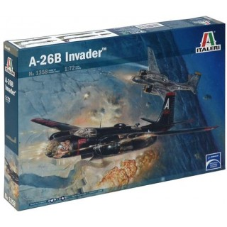 Model Kit letadlo 1358 - A-26B INVADER (1:72)