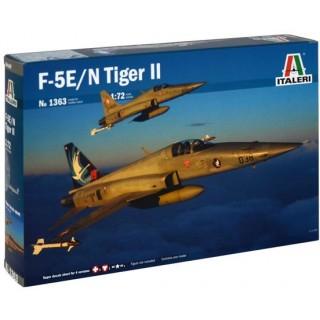 Model Kit letadlo 1363 - F-5E/N TIGER II (1:72)