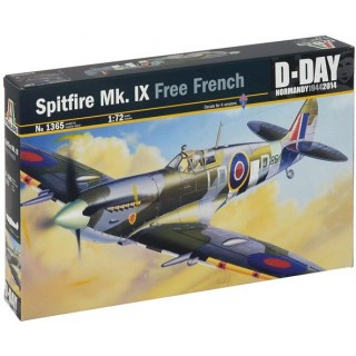Model Kit letadlo 1365 - SPITFIRE Mk.IX Free French (1:72)