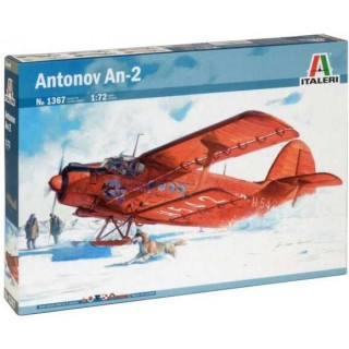 Model Kit letadlo 1367 - ANTONOV An-2 (1:72)
