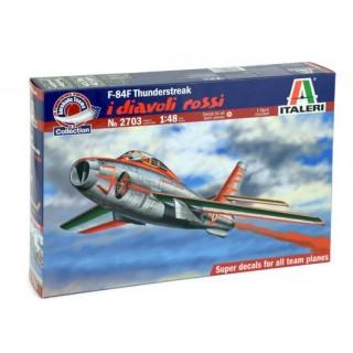 "Model Kit letadlo 2703 - 1:48 F-84F THUNDERSTREAK ""DIAVOLI ROSSI"" (1:48)"