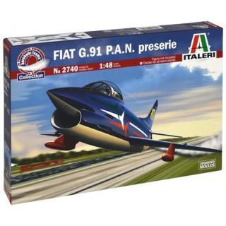 Model Kit letadlo 2740 - 1:48 FIAT G.91 P.A.N. preserie (1:48)