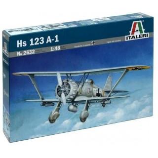 Model Kit letadlo 2632 - Hs-123 A-1 (1:48)