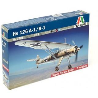 Model Kit letadlo 2701 - HS 126 A-1 / B-1 (1:48)