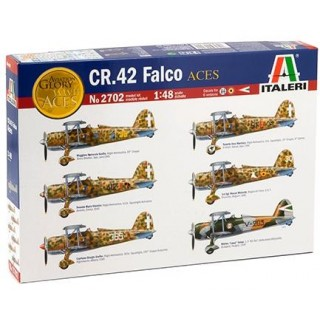 Model Kit letadlo 2702 - CR.42 FALCO ACES (1:48)