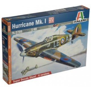 Model Kit letadlo 2705 - HURRICANE Mk.I (1:48)