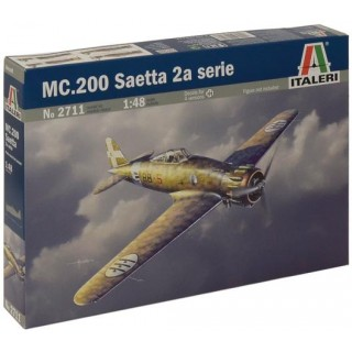 Model Kit letadlo 2711 - MC.200 SAETTA 2a SERIE (1:48)
