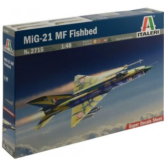 Model Kit letadlo 2715 - MIG-21 MF FISHBED (1:48)
