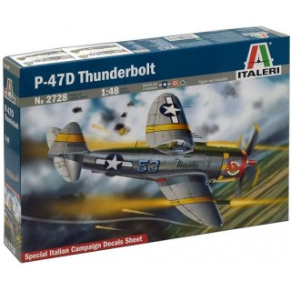 Model Kit letadlo 2728 - P-47D Thunderbolt (1:48)