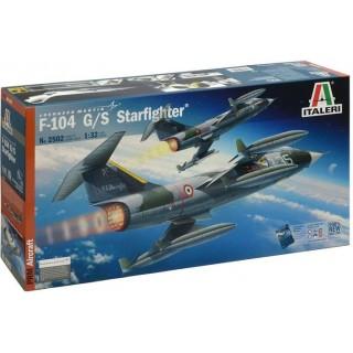Model Kit letadlo PRM edice 2502 - F-104G/S STARFIGHTER (1:32)
