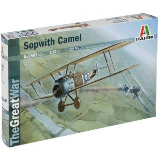 Model Kit letadlo 2507 - SOPWITH CAMEL (1:32)