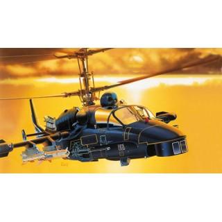 """Model Kit vrtulník 0005 - KAMOV KA-52 """"ALLIGATOR"""" (1:72)"""