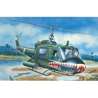 Model Kit vrtulník 0050 - UH-1C GUNSHIP (1:72)