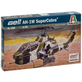 Model Kit vrtulník 0160 - AH-1W SUPER COBRA (1:72)