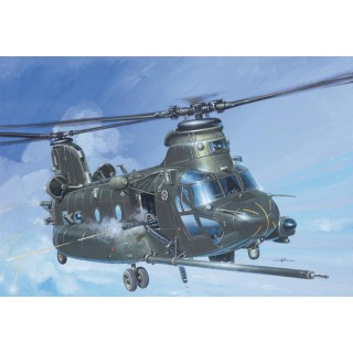 Model Kit vrtulník 1218 - MH-47 E SOA CHINOOK TM (1:72)