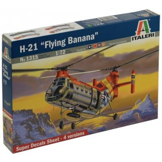 "Model Kit vrtulník 1315 - H-21 ""FLYING BANANA"" (1:72)"