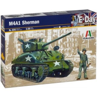 Model Kit tank 0225 - M4 A1 SHERMAN (1:35)