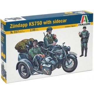 Model Kit military 0317 - ZÜNDAPP KS750 (1:35)