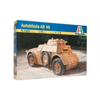 Model Kit military 6482 - Autoblinda AB 40 (1:35)