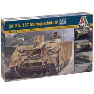 Model Kit tank 6491 - Sd.Kfz.167 STURMGESCHUTZ IV (1:35)
