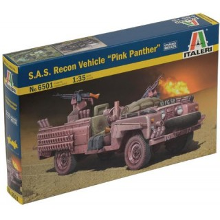 "Model Kit military 6501 - S.A.S. RECON VEHICLE ""PINK PANTHER"" (1:35)"