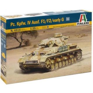 Model Kit tank 6514 - Pz. Kpfw. IV Ausf. F1/F2 (1:35)