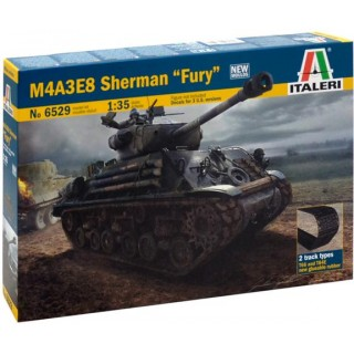 Model Kit tank 6529 - M4A3E8 SHERMAN (1:35)