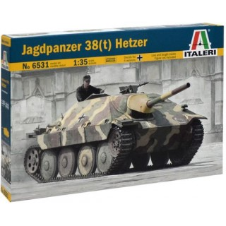Model Kit tank 6531 - JAGDPANZER 38(t) HETZER (1:35)