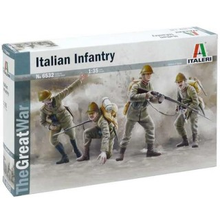 Model Kit figurky 6532 - WWI ITALIAN INFANTRY (1:35)