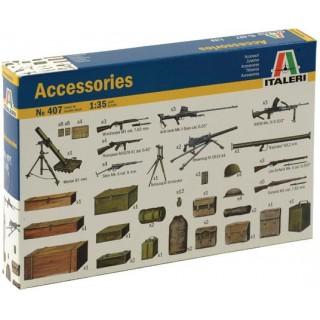 Model Kit doplňky 0407 - ACCESSORIES (1:35)