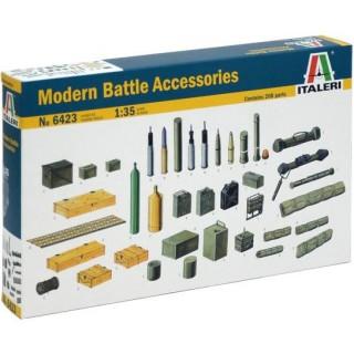 Model Kit doplňky 6423 - MODERN BATTLE ACCESSORIES (1:35)