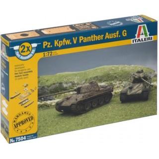 Fast Assembly tanky 7504 - Pz.Kpfw.V PANTHER Ausf.G (1:72)