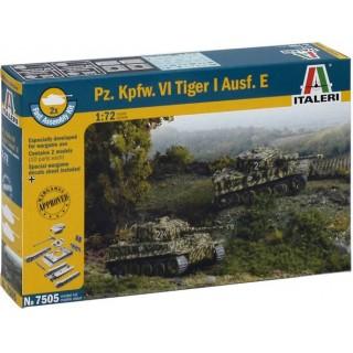 Fast Assembly tanky 7505 - Pz.Kpfw.VI TIGER I Ausf.E (1:72)