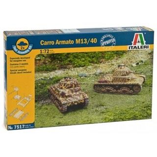 Fast Assembly tanky 7517 - Carro Armato M13/40 (1:72)