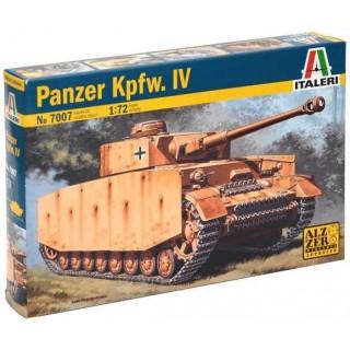 Model Kit tank 7007 - PZ. KPFW. IV (1:72)