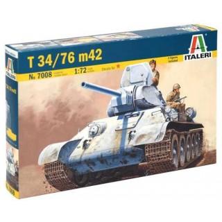 Model Kit tank 7008 - T 34/76 m42 (1:72)