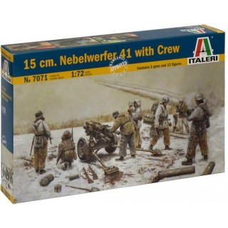 Model Kit figurky 7071 - 15 cm. NEBELWERFER 41 with CREW (1:72)