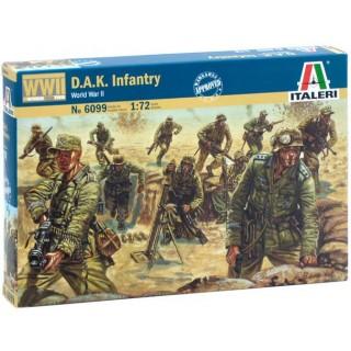 Model Kit figurky 6099 - WWII - D.A.K. INFANTRY (1:72)