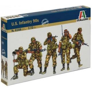 Model Kit figurky 6168 - U.S. Infantry (1980s) (1:72)