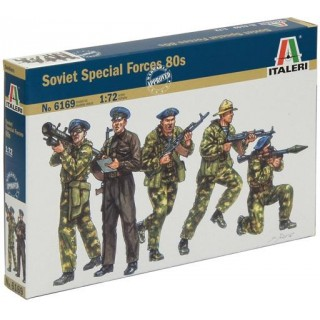 "Model Kit figurky 6169 - Soviet Special Forces ""SPETSNAZ"" (1980s) (1:72)"