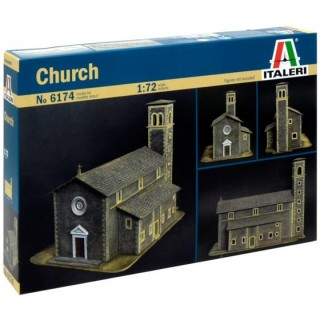 Model Kit diorama 6174 - CHURCH (1:72)