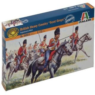 "Model Kit figurky 6001 - BRITISH ""SCOT GREYS"" (NAP.WARS) (1:72)"