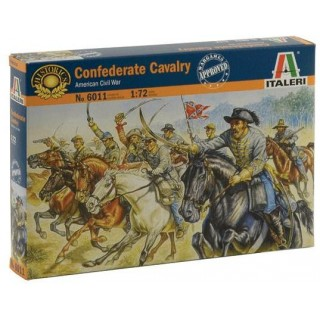 Model Kit figurky 6011 - CONFEDERATE CAVALRY (AMERICAN CIVIL WAR) (1:72)