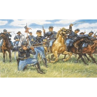 Model Kit figurky 6013 - UNION CAVALRY (AMERICAN CIVIL WAR) (1:72)