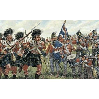 Model Kit figurky 6058 - BRITISH and SCOTS INFANTRY (NAPOL.WARS) (1:72)