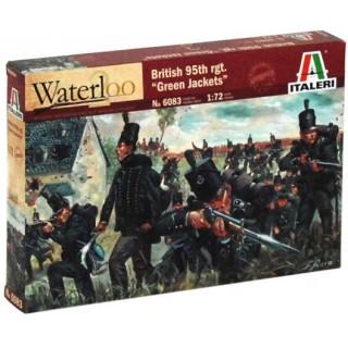 Model Kit figurky 6083 - NAPOLEONIC WARS - BRITISH 95th rgt. (1:72)