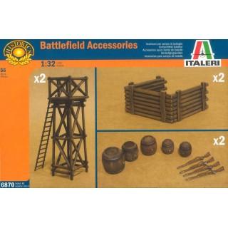 Model Kit doplňky 6870 - ARTILLERY POSITION ACCESSORIES (1:32)