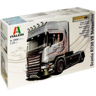Model Kit truck 3906 - SCANIA R730 STREAMLINE 4x2 (1:24)