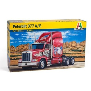 Model Kit truck 0740 - CLASSIC PETERBILT 377 A/E (1:24)